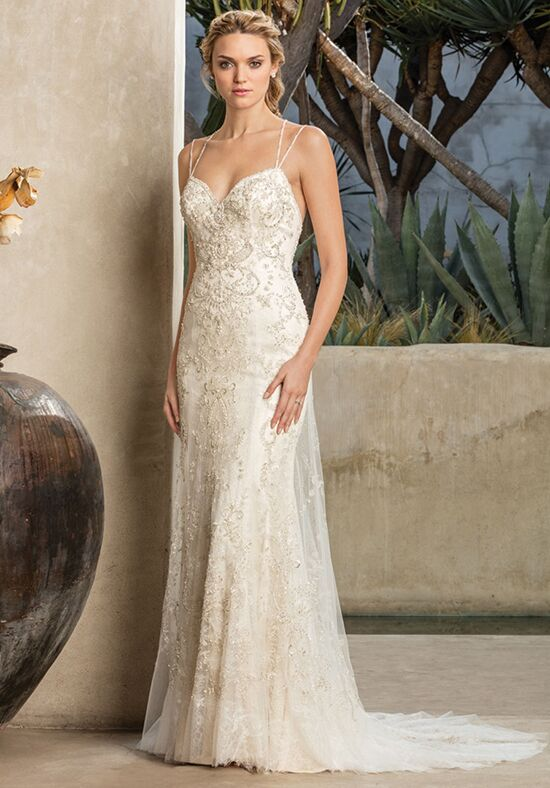 Casablanca Bridal Style 2295 Jade Sheath Wedding Dress