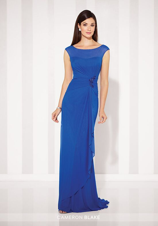 Cameron Blake 117601 Blue Mother Of The Bride Dress