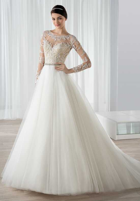 Demetrios 591 Ball Gown Wedding Dress