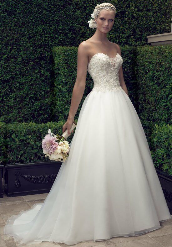 Casablanca Bridal 2191 A-Line Wedding Dress
