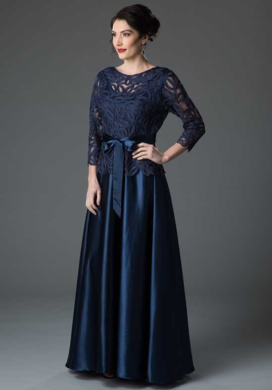 LuxeLace by Soulmates 1601 Blue Mother Of The Bride Dress