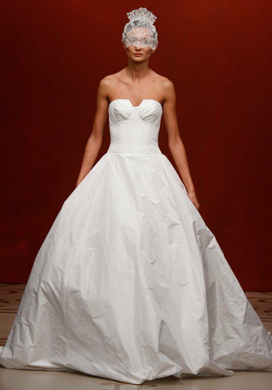 Reem Acra 4412 Ball Gown Wedding Dress