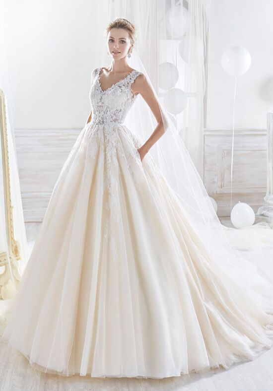 Nicole Collection 2018 NIAB18070 Ball Gown Wedding Dress