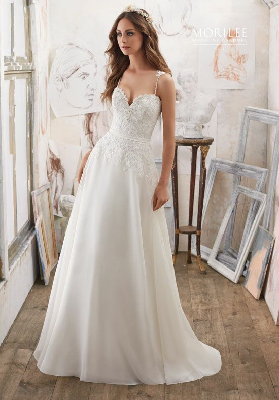 Morilee by Madeline Gardner/Blu 5514 A-Line Wedding Dress