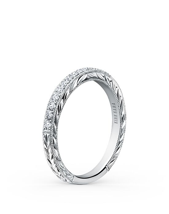 Kirk Kara Carmella K1170D-B White Gold Wedding Ring