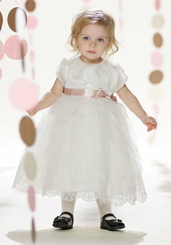 Joan Calabrese by Mon Cheri 213318B Flower Girl Dress photo