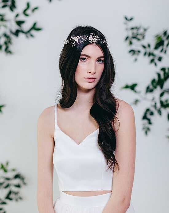 Davie & Chiyo | Hair Accessories & Veils Cassiopeia Hair Wreath Gold, Silver Headband