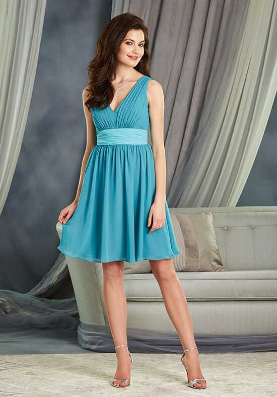 Alfred Angelo Signature Bridesmaids Collection 7375S V-Neck Bridesmaid Dress