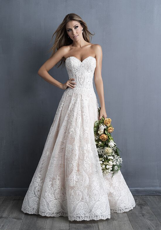 Allure Couture C481 Ball Gown Wedding Dress