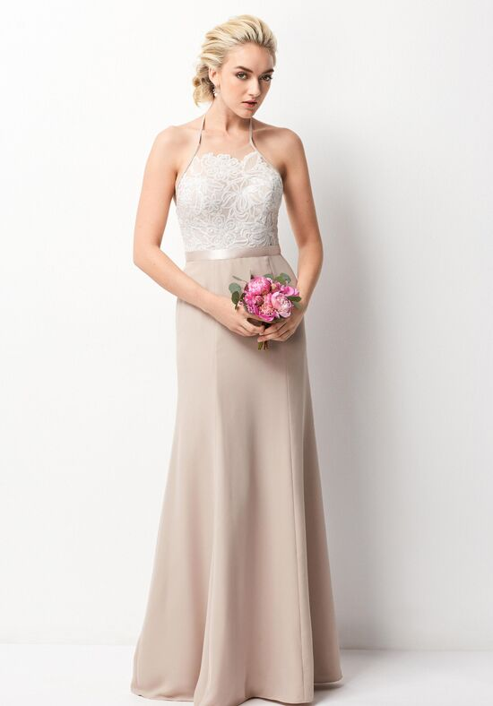 Wtoo Maids 257 Halter Bridesmaid Dress