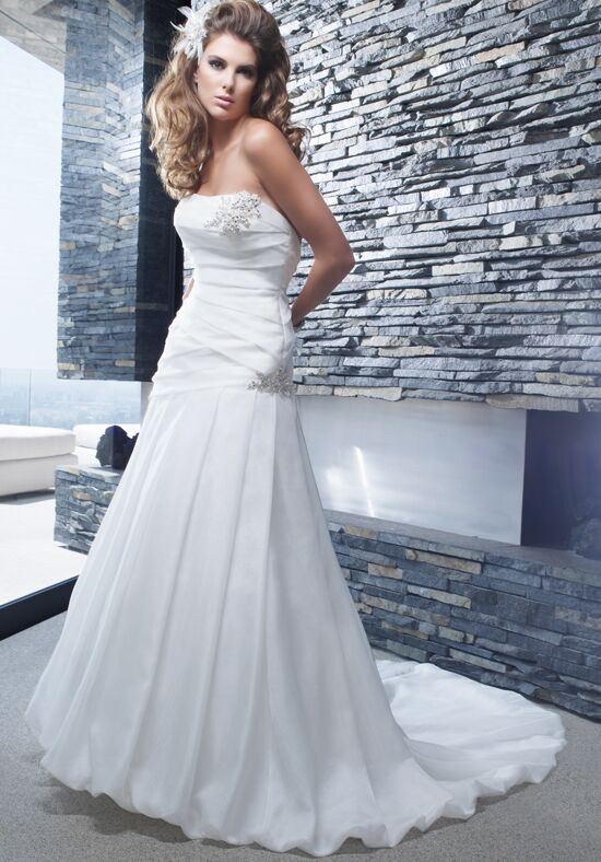 Amaré Couture by Crystal Richard B003 A-Line Wedding Dress