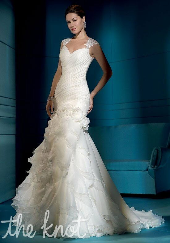 Demetrios 3162 Mermaid Wedding Dress