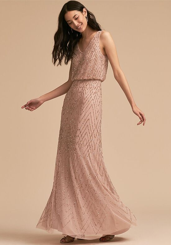 BHLDN (Bridesmaids) Blaise Dress V-Neck Bridesmaid Dress
