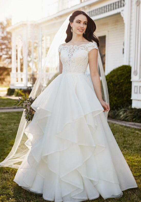 Martina Liana Chelsi + Stevie Ball Gown Wedding Dress
