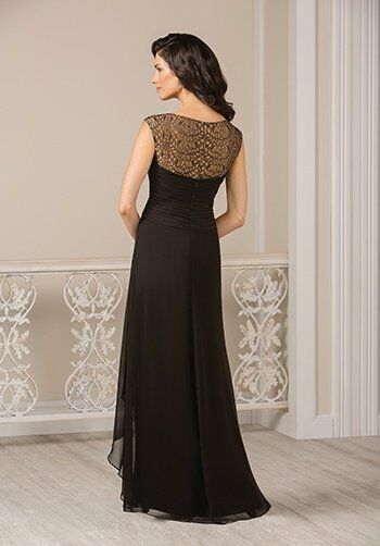 Jade J185017 Black Mother Of The Bride Dress