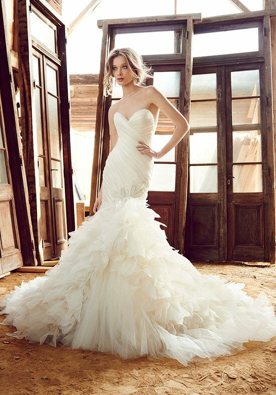 Lazaro 3559 Mermaid Wedding Dress