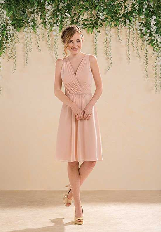 B2 by Jasmine B183004 V-Neck Bridesmaid Dress