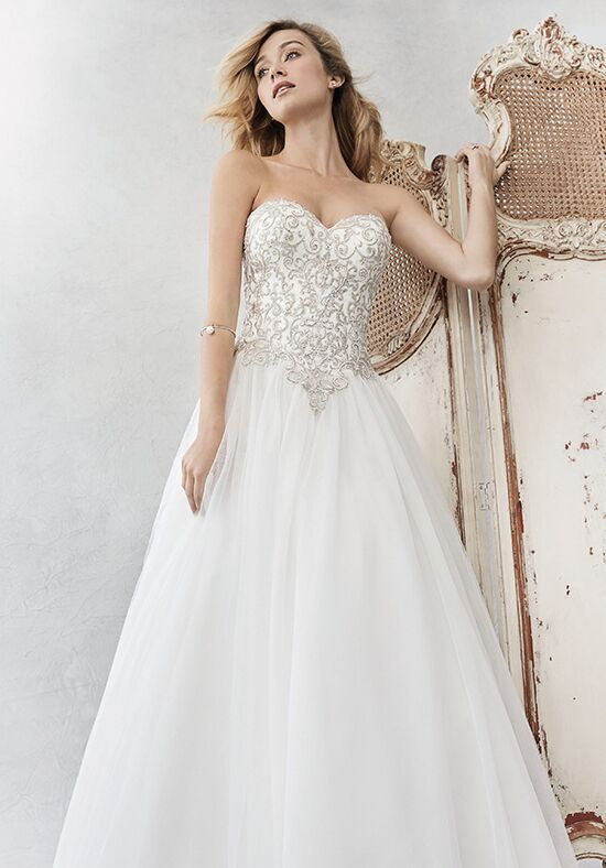 Kenneth Winston: Ella Rosa Collection BE353 Ball Gown Wedding Dress