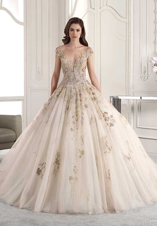 Demetrios 881 Ball Gown Wedding Dress