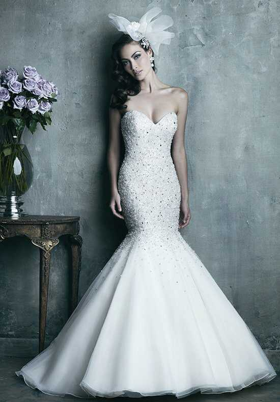 Allure Couture C286 Mermaid Wedding Dress