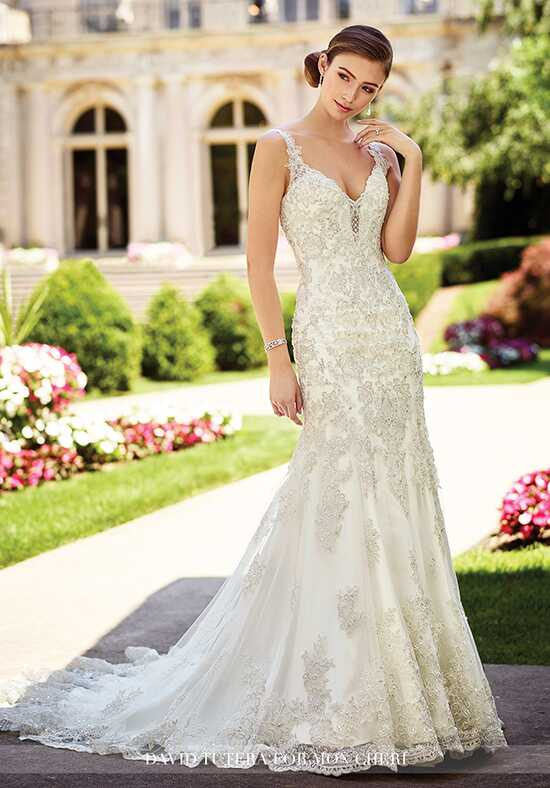 David Tutera for Mon Cheri 117275 Chrisann Wedding Dress photo