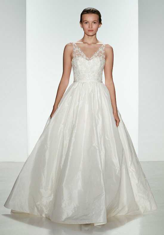 Amsale A685/ Bardot Ball Gown Wedding Dress