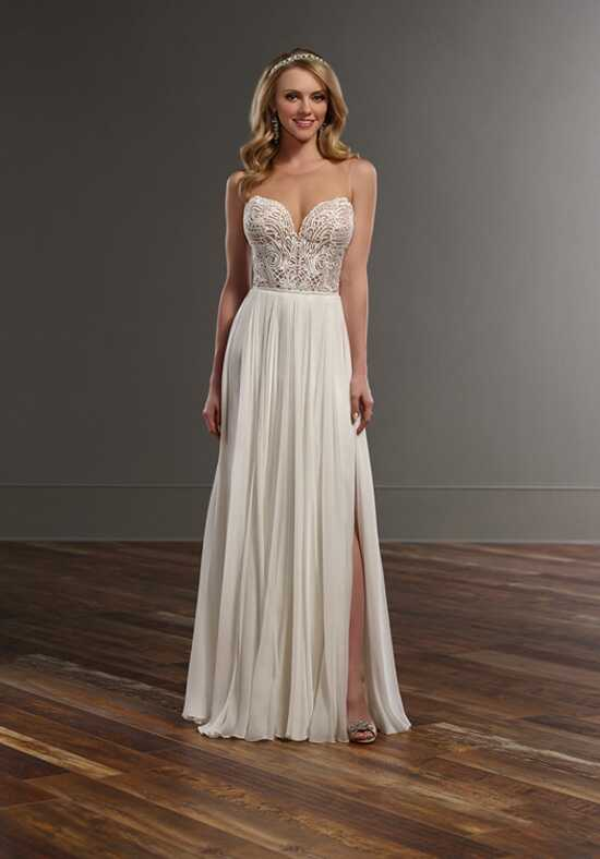 Martina Liana Bryce+Shae Sheath Wedding Dress