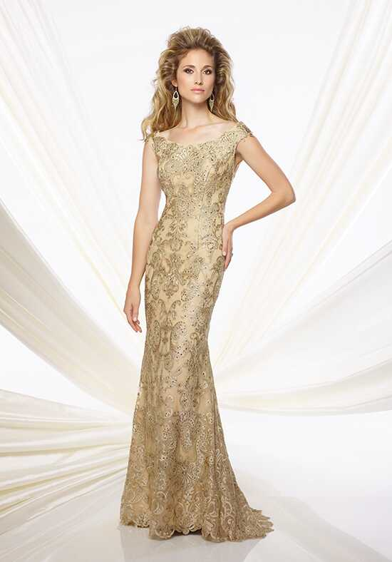Montage by Mon Cheri 116948 Gold Mother Of The Bride Dress