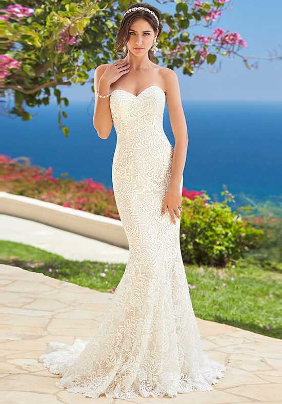 KITTYCHEN Couture CORA, H1661 Sheath Wedding Dress