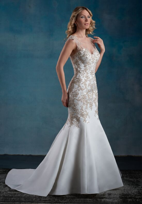 1 Wedding by Mary's Bridal 6554 Mermaid Wedding Dress