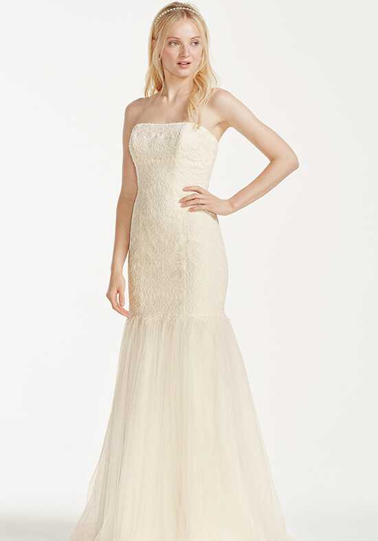 David's Bridal Galina Signature Style KP3765 Mermaid Wedding Dress