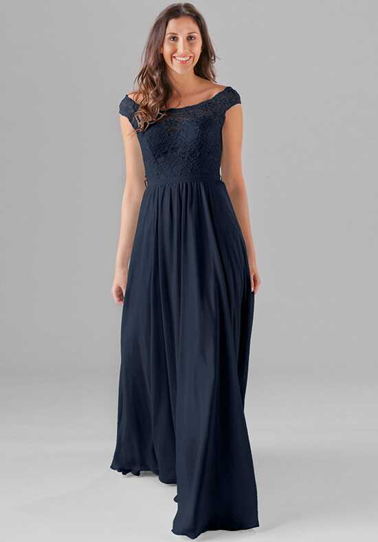 Kennedy Blue Lola Bateau Bridesmaid Dress