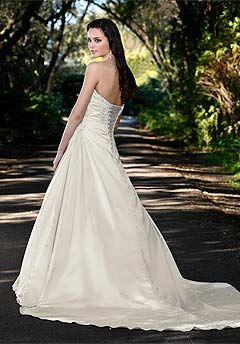 Essense of Australia D1052 A-Line Wedding Dress