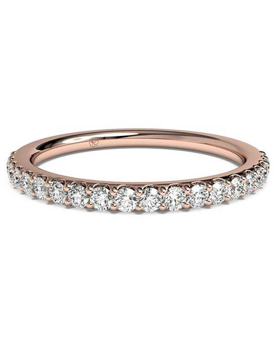 Ritani Women's French-Set Diamond Ring - in 18kt Rose Gold - (0.28 CTW) Rose Gold Wedding Ring