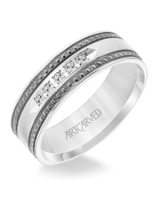 ArtCarved 22-V8847W7 Gold Wedding Ring