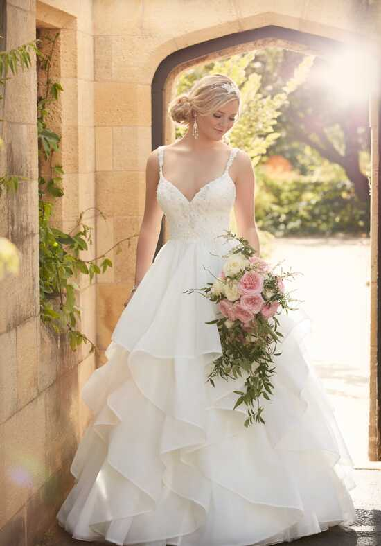 Essense of Australia D2073 Ball Gown Wedding Dress