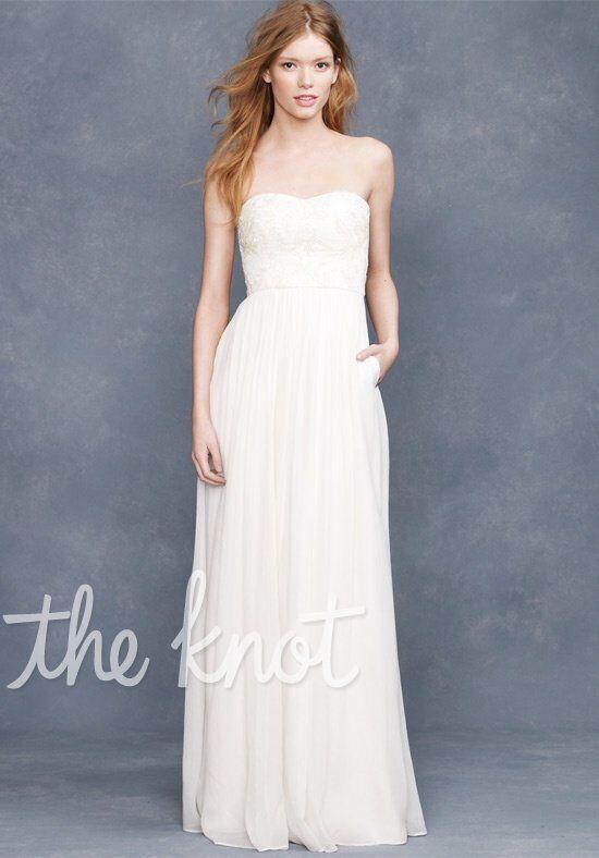 J. Crew Weddings & Parties Farrah Beaded Gown Wedding Dress - The Knot