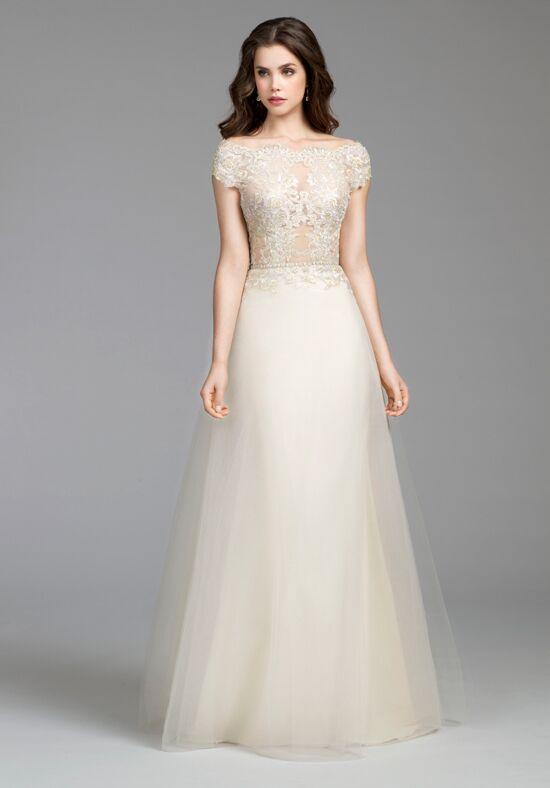 Tara keely by lazaro 2650 wedding dress the knot for Lazaro a line wedding dress