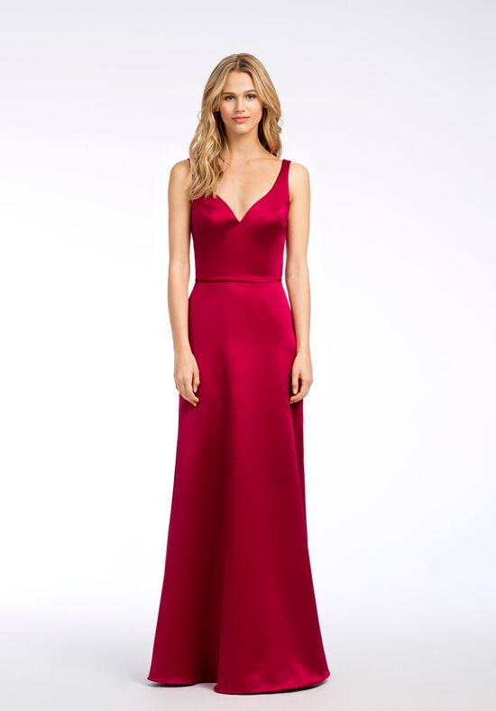 Hayley Paige Occasions 5666 V-Neck Bridesmaid Dress