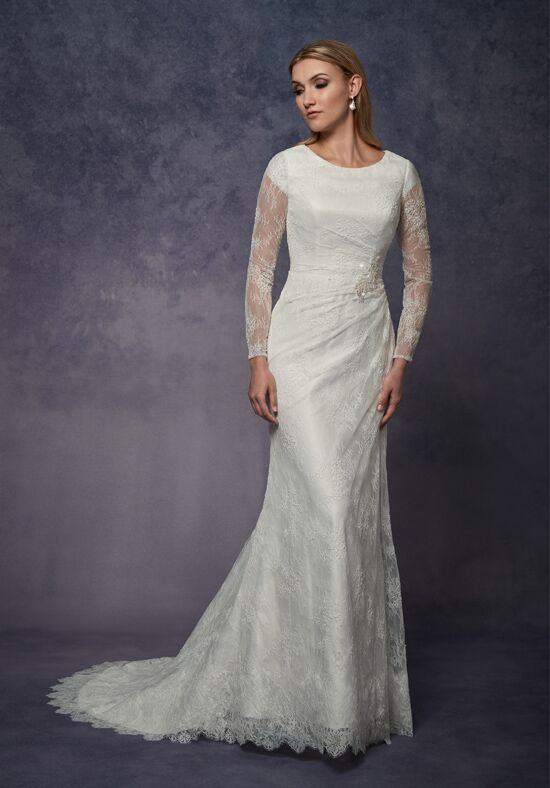 1 Wedding by Mary's Bridal 3Y674 Mermaid Wedding Dress