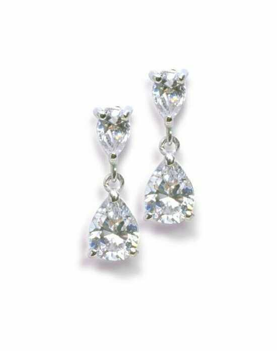 Anna Bellagio Anastasia Cubic Zirconia Earrings Wedding Earring photo