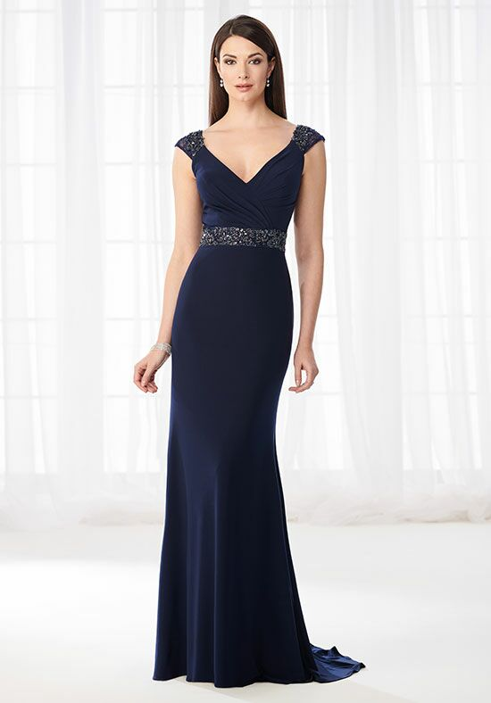 Cameron Blake 218617 Blue Mother Of The Bride Dress