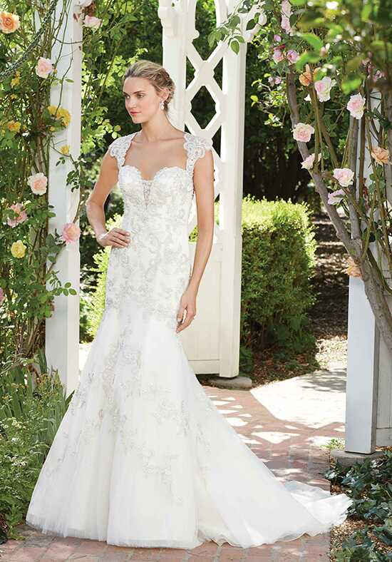 Casablanca Bridal Style 2277 Hibiscus Mermaid Wedding Dress