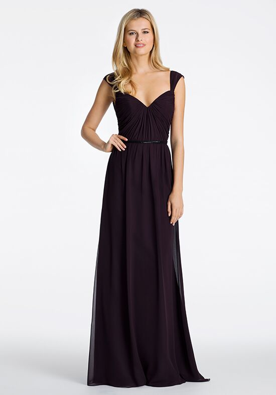 Hayley Paige Occasions 5616 V-Neck Bridesmaid Dress