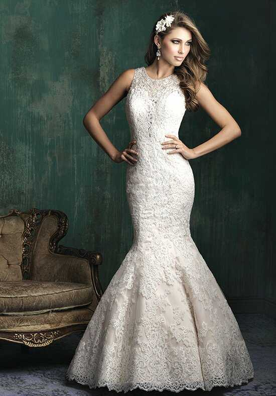 Allure Couture C350 Mermaid Wedding Dress