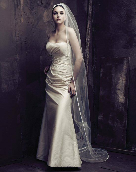 Paloma Blanca Veils Collection V410C Veil