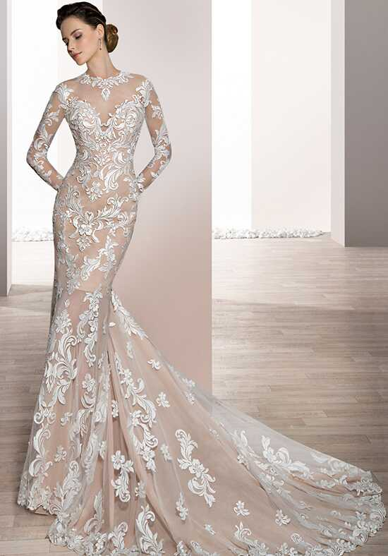 Demetrios 720 Sheath Wedding Dress