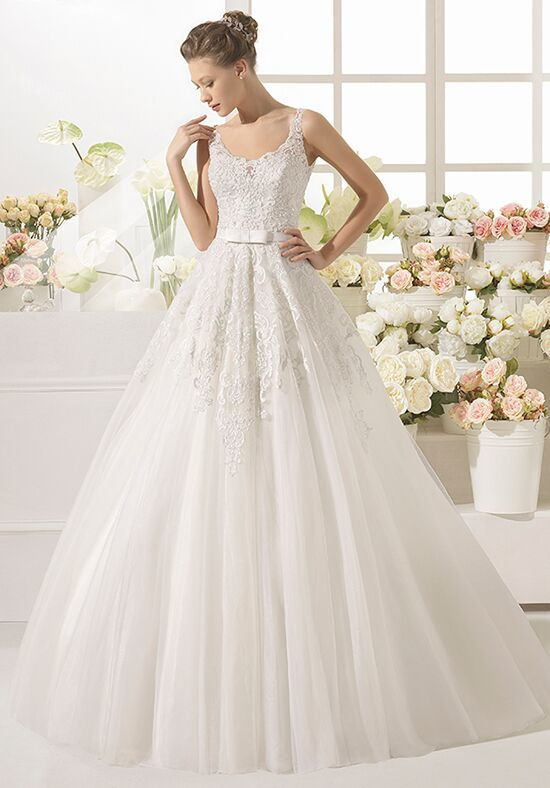 Aire Barcelona Candel A-Line Wedding Dress