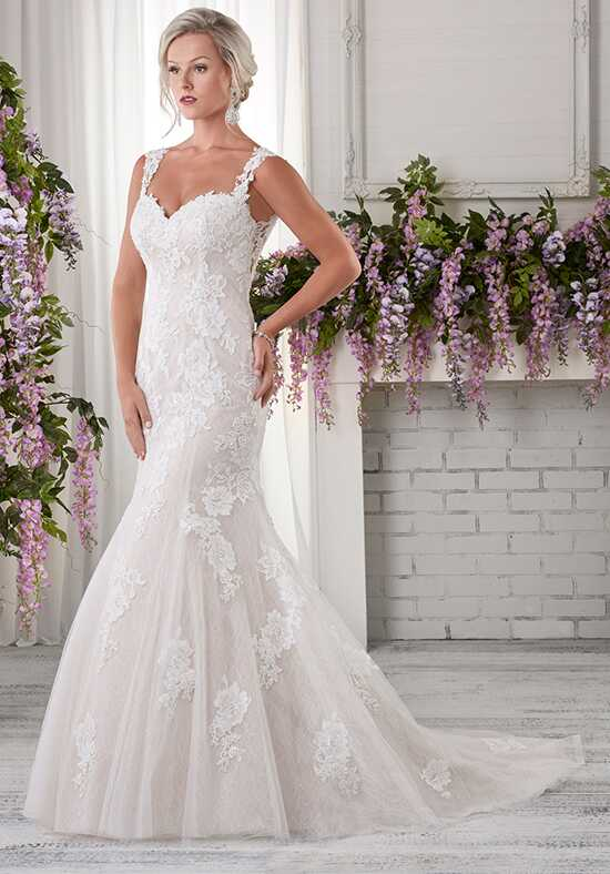 Bonny Bridal 607 Sheath Wedding Dress