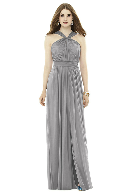 Alfred Sung D720 Halter Bridesmaid Dress